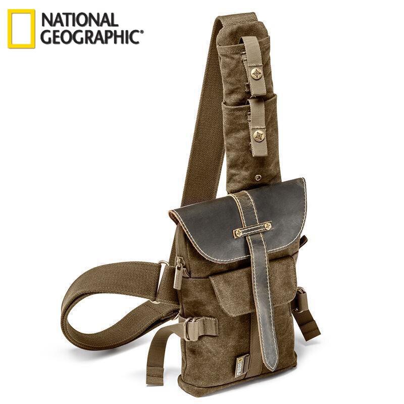 National géographique afrique NG A4567 Micro unique sac à bandoulière sac à bandoulière NGA4567 sac photo reflex