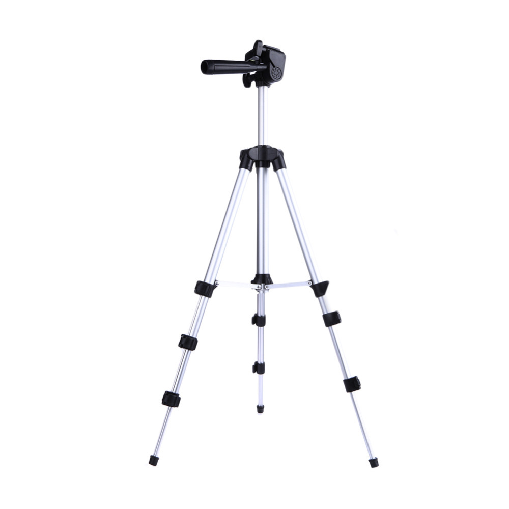 Professionale camera tripod holder stand per iphone ipad samsung fotocamera digitale + tavolo/pc holder + supporto telefonico + nylon carry borsa