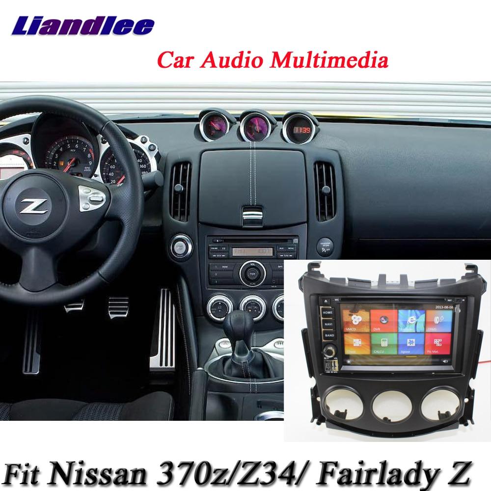 Liandlee Car System For Nissan 370z / Fairlady Z / Z34 Radio Video DVD Player GPS Nav MAP Navigation 1080P HD Screen Multimedia spl rkb z34 fks rear knuckle monoball bushing set nissan 370z z34 09 infiniti g37 08 g35 07 08 sedan v36