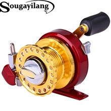 2016 New Fishing Reel 7BB/Tackle Gear, Full Bass Metal Raft Wheel 3 Colors Spinning Ice Fishing Reel (right hand reel)