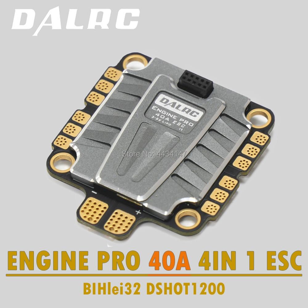 DALRC 4IN1 ENGING PRO 40A ESC 3 5S Blheli 32 4 in 1 ESC Brushless DSHOT1200