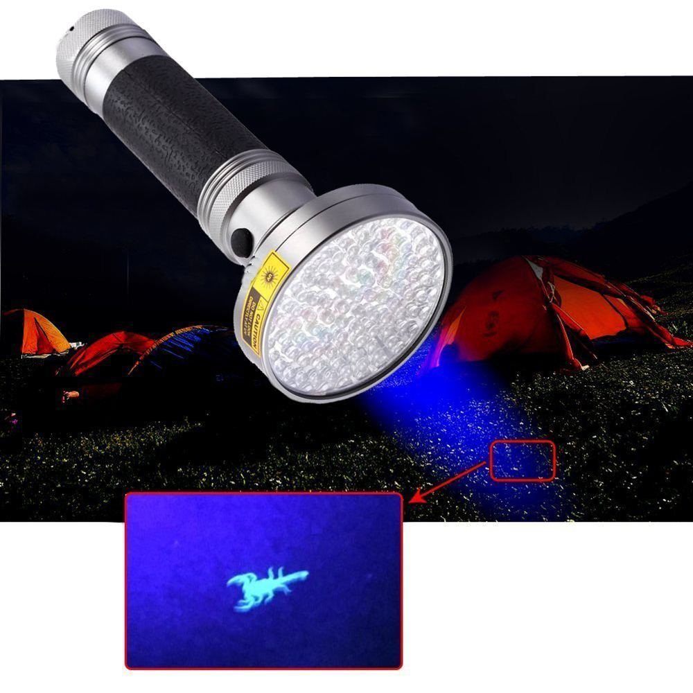 AloneFire 18 W ultraviolet UV LED Licht 395-400nm zaklamp fakkel lamp - Draagbare verlichting - Foto 3