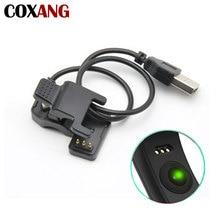 COXANG kabel do ładowania usb dla F1/F1plus/C1plus/K1/inteligentna bransoletka przewód ładowarki zastąpienie 3 pinowe adapter przewodu zasilania