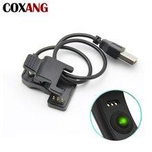 Coxang cabo de carregamento usb para f1/f1plus/c1plus/k1/pulseira inteligente carregador cabo de substituição 3 pinos cabo de carga adaptador