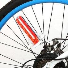 2017 Colorful Bicycle Lights Bike Cycling Wheel Spoke Light 32 LED 32-pattern Waterproof Bike Tyre Tire Wheel Lamps