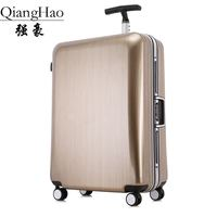 High Quality 20 22 25 29 Inch Fashion Trolley Case Aluminum Frame Travel Luggage ABS PC