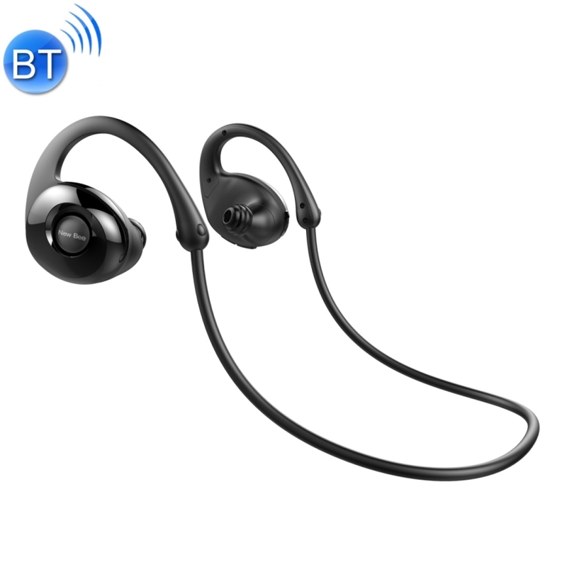 NB-7 Sweatproof Wireless Bluetooth 4.1 Snail Bionic In-ear Stereo Headphone Sports Headset with Microphone for iPhone Android