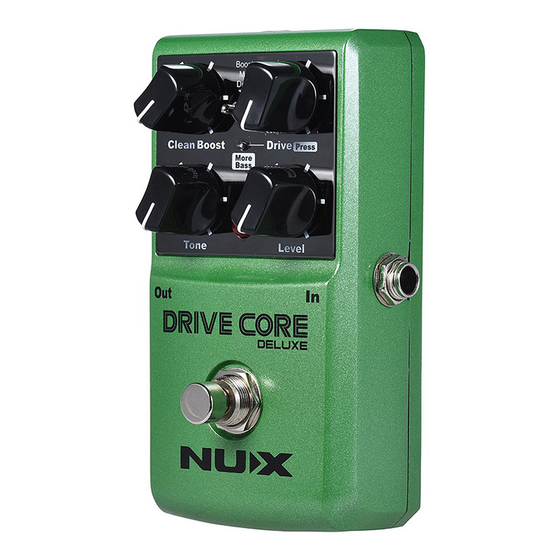 NUX Drive Core Deluxe Guitar Pedal Electric Effect Pedal Mixture of Overdrive Blends Clean Boost Performance Guitar Accessories