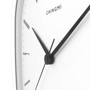 Image 2 - Neue Youpin Chingmi QM GZ001 Wanduhr Ultra ruhigen Ultra präzise Berühmte Designer Design Einfache Stil Für Freies Leben