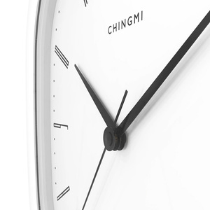 Image 2 - 新しい youpin chingmi QM GZ001 壁時計超静音超精密有名なデザイナーデザイン送料生活ためのシンプルなスタイル