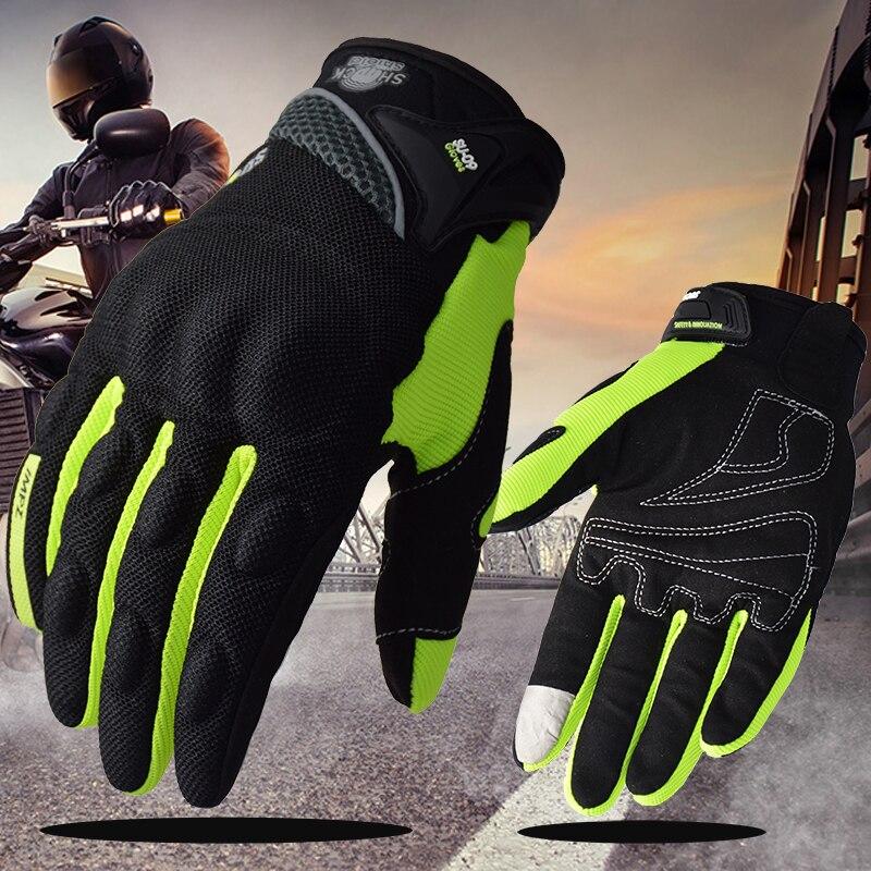 SUOMY moto rcycle Handschuhe Racing Sommer Volle Finger Schutz guantes moto moto kreuz luva moto ciclista Für Yamaha Harley BMW