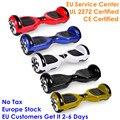 EU Magazzino Hoverboard 6.5 Pollici Trottinette Electrique Adulte in Mare Hover Bordo di Scooter Elettrico di Skateboard Elettrico Vespa