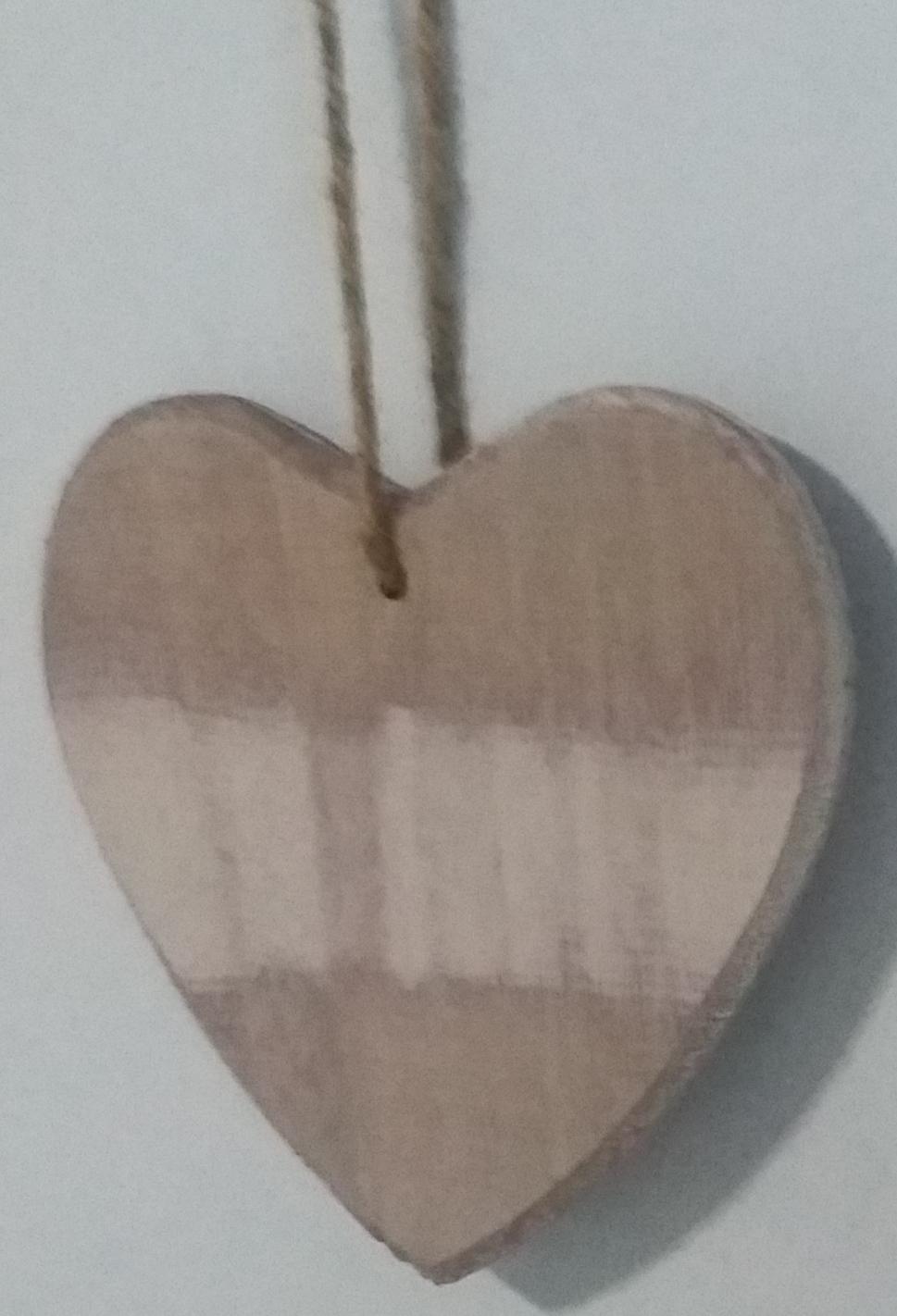 envo libre cm corazn de madera en marrn y blanco rstico antiguo mezclado decoracin de