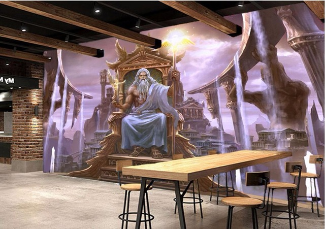 3d Classroom Wallpaper Custom Photo 3d Room Wallpaper Non Woven Mural Western