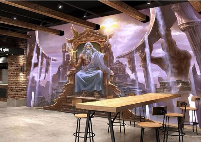 Custom Photo 3d Room Wallpaper Non Woven Mural Western