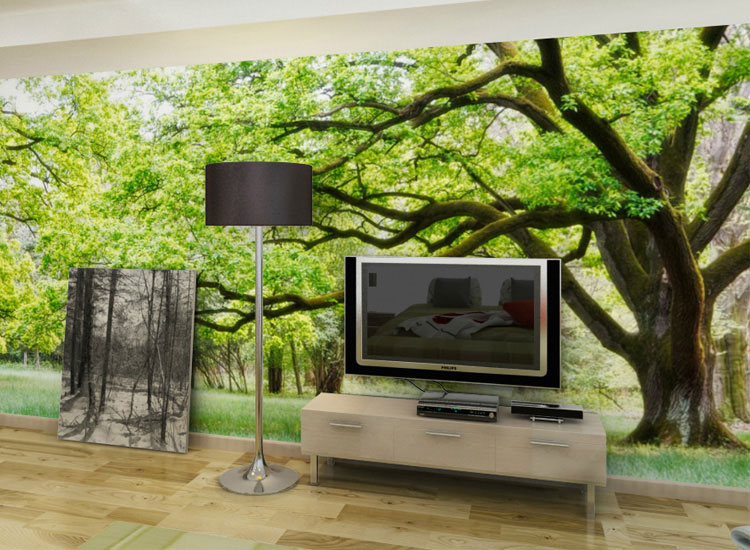 Nature murals for walls for Nature room wallpaper