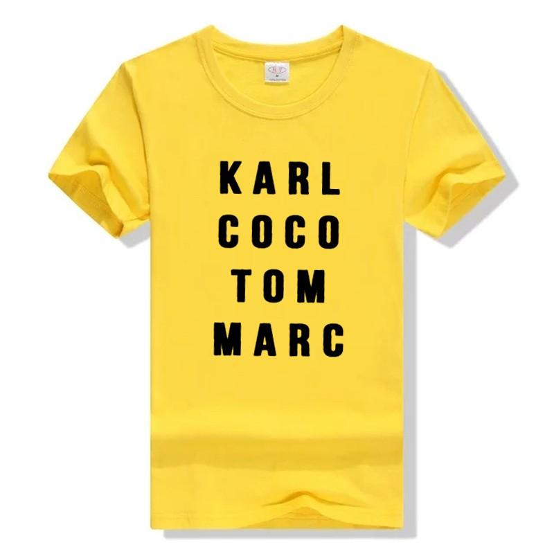 HTB1YJ0dLXXXXXbUapXXq6xXFXXXg - Karl Coco Tom Marc Fashionista T shirt PTC 113