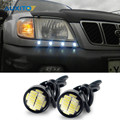 Car Led DRL Daytime Running Light Eagle Eye Lamp Parking Light For Subaru Impreza Forester XV Legacy Outback Sti Wrx Brz Spoiler