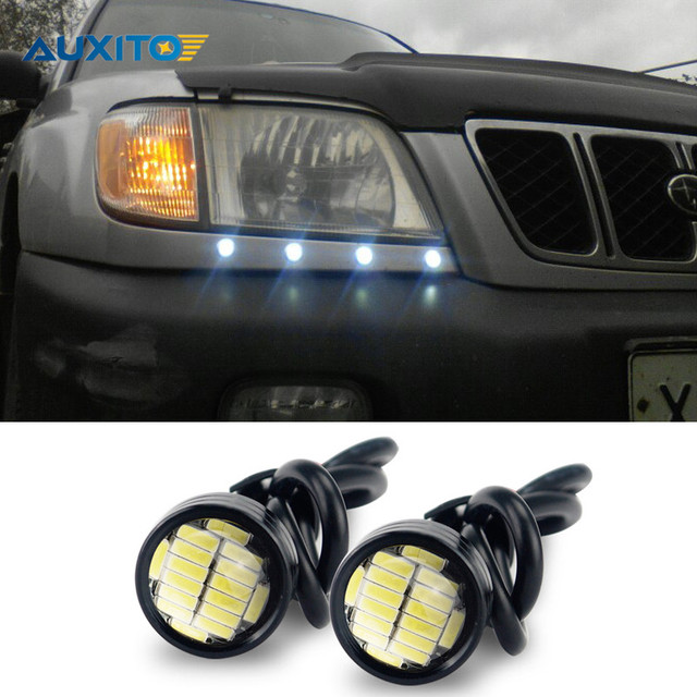 Car Led Drl Daytime Running Light Eagle Eye Lamp Parking