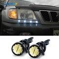 Carro Levou DRL Luz de Circulação Diurna Lâmpada Olho de Águia Luz de Estacionamento para Subaru Forester Impreza Legacy Outback XV Brz Sti Wrx Saqueador