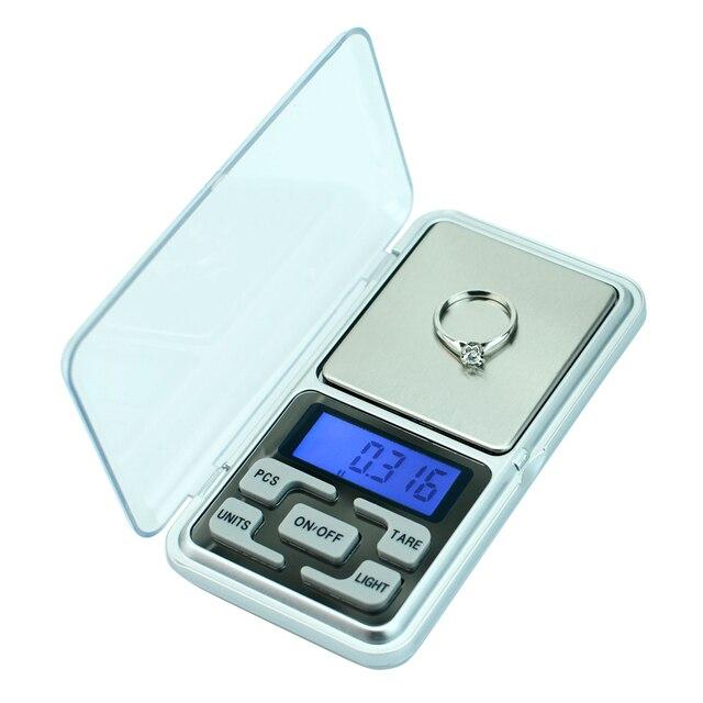 Präzision waagen 500g/300g/200g mini pocket digital gewicht balance für Schmuck Gold Diamant Kraut gram Elektronische waagen