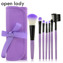7pcs kits Makeup Brushes Professional Set Cosmetics Brand Makeup Brush Tools Foundation Brush For font b