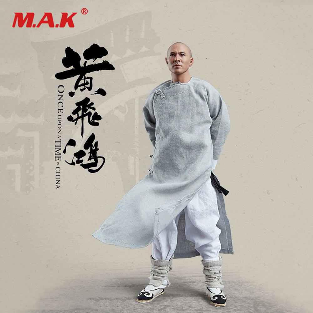 For Collection 1/6 Collectible Full Set Master Of Kung Fu Once Upon a Time in China Wong Fei-hung Jet Li Figure for Fans Gift потолочный вентилятор china for a long time