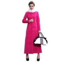 Nowy muzułmańskie maxi z długim rękawem płaszcz smukła konstrukcja moda okopu płaszcze damskie stałe długi znosić slim fit długo ovecoat