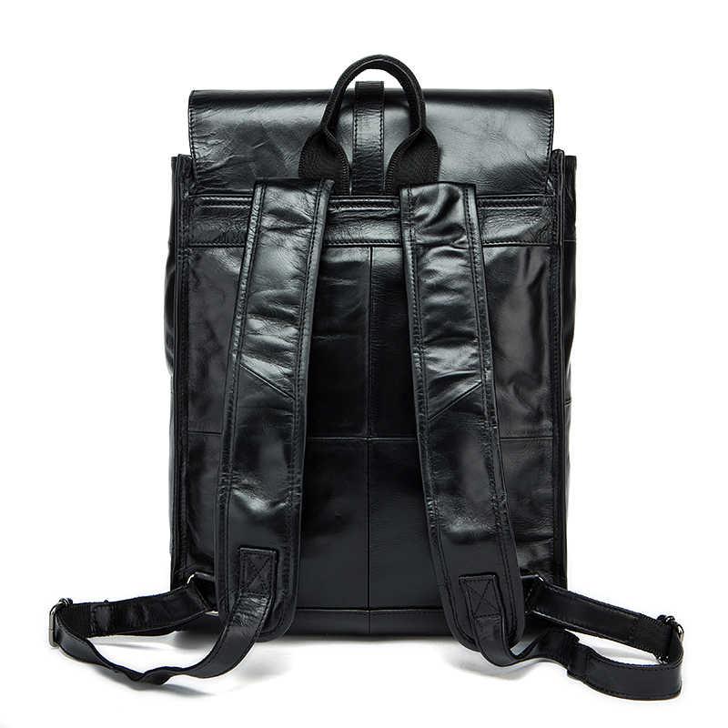 WESTAL рюкзак кожа из натуральной кожи рюкзак мужской мужские дорожные сумки модабизнес натуральная кожа мужской рюкзак школьный рюкзаки школьный рюкзак ранец кожаный рюкзак 9116