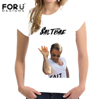 FORUDESIGNS Swag Salt Bae T Shirt Fitness T Shirt Funny Homme Short Sleeve O Neck Tshirt