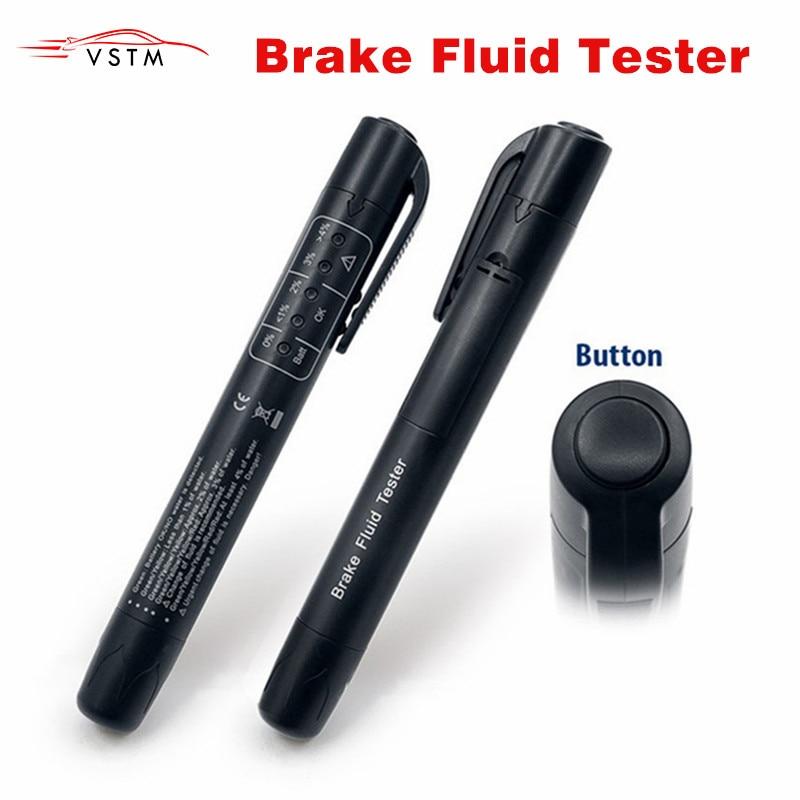 Car Brake Fluid Tester Car Diagnostic Tools 5 Leds Brake Fluid Testing Tools Post