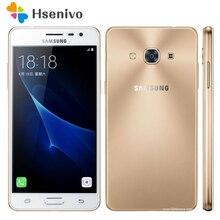D'origine Samsung Galaxy J3 Pro J3110 Quad Core 5.0 Pouce 2 GB RAM 16 GB ROM 8MP LTE 4G Double SIM Snapdragon Débloqué Mobile téléphone