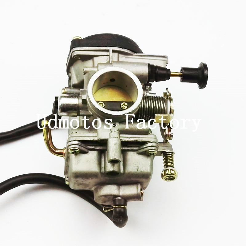 Free AE Shipping 30mm carburetor JIANSHE LONCIN BASHAN 250cc ATV250 JS250 carburetor For Qingqi QM250GY Manual