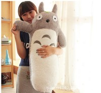 80cm Hot Sell Japan Anime totoro Stuffed Plush Doll long Pillow Cushion Birthday gift free shipping