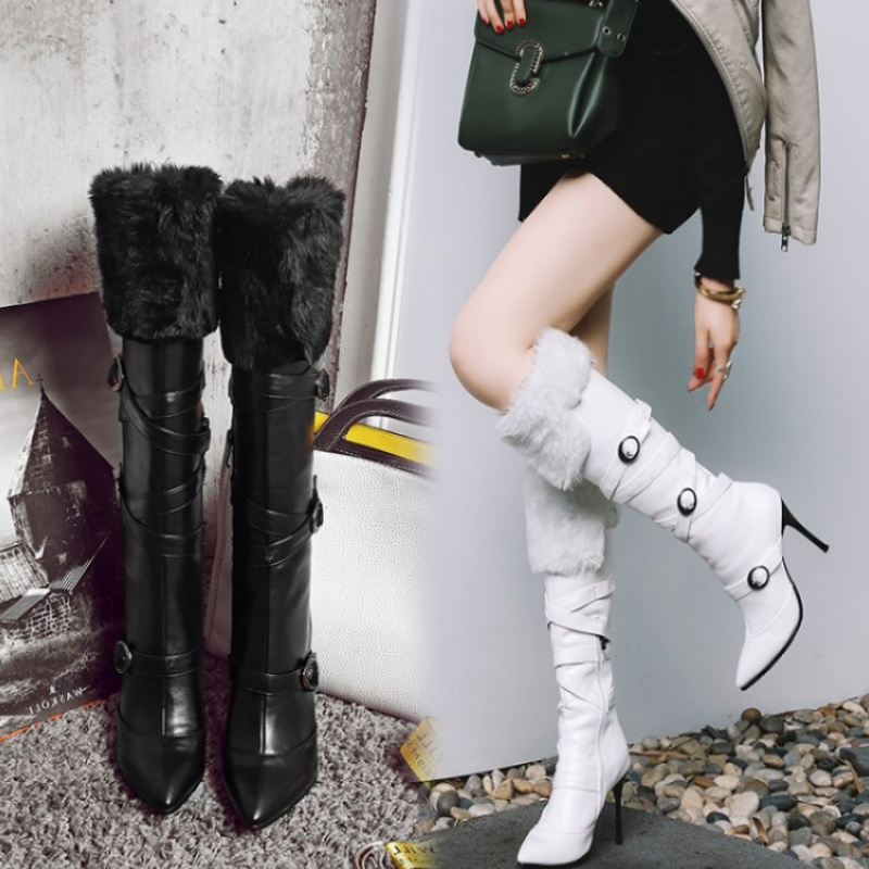 Autumn and winter stiletto sexy lace-up long boots female waterproof platform high-heeled womens bootsAutumn and winter stiletto sexy lace-up long boots female waterproof platform high-heeled womens boots