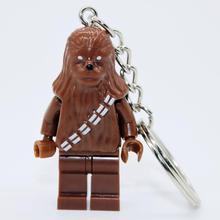 XINH 084 Star Wars Chewbacca Minifigures Keychain DIY Handmade Building Blocks Sets Model Toys