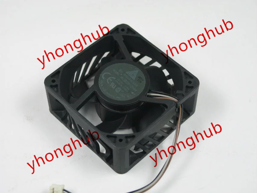 Free Shipping For DELTA AUB0612HH, -AP25 DC 12V 0.36A, 60x60x25mm 80mm, 3-wire 3-pin connector Server Square Cooling Fan free shipping for delta afc0612db 9j10r dc 12v 0 45a 60x60x15mm 60mm 3 wire 3 pin connector server square fan