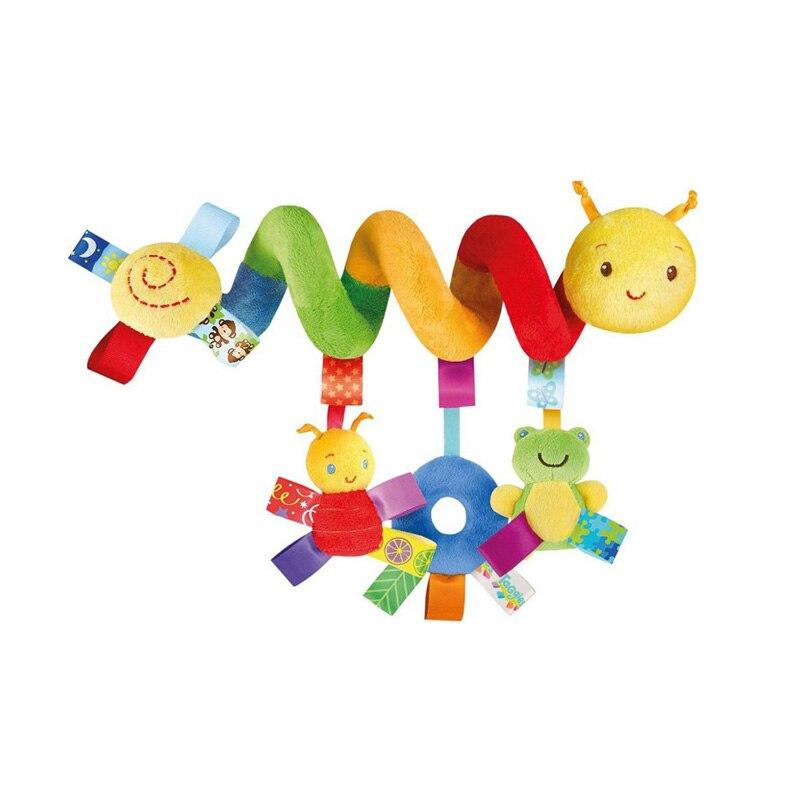 Caliente infantil Juguetes bebé cuna gira alrededor de la cama cochecito jugando juguete cuna Tornos colgante bebé traqueteos móvil 11- 173