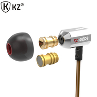Original KZ ED9 Super Bass In Ear Music Earphone HIFI Stereo Earbuds Noise Isolating Sport Earphones