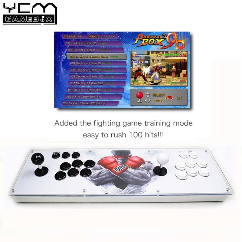 100% Quality Pandora's Box 9d 2222 Arcade Game Console For Tv Pc Ps3 Monitor Support Hdmi Vga Usb With Pause Pandora Video Arcade Machine Durable In Use