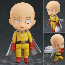Cute Action Figure One Punch Man Figure Saitama Sensei Figure One-Punch Man 10cm PVC Kids Toys Juguetes Model Doll Toy Gift