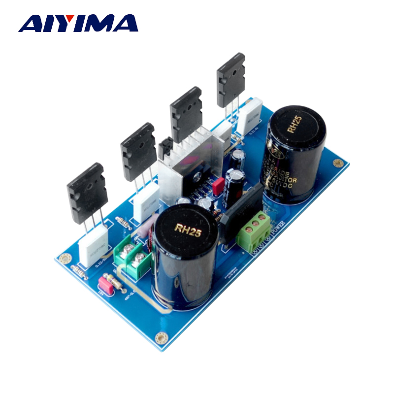 AIYIMA Amplifiers Audio Board DIY Kits UPC1342V 220W Dual Mono Split Amplifier Spare Parts aiyima 12v tda7297 audio amplifier board amplificador class ab stereo dual channel amplifier board 15w 15w