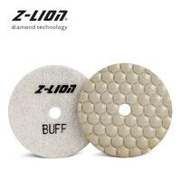 Z LEAP pralnia diamentowe ostateczne polerowanie Pad Black & White Buff Disc marmur granit trawertyn lastryko betonowe kamienia ścierne koła w Tarcze polerskie od Narzędzia na