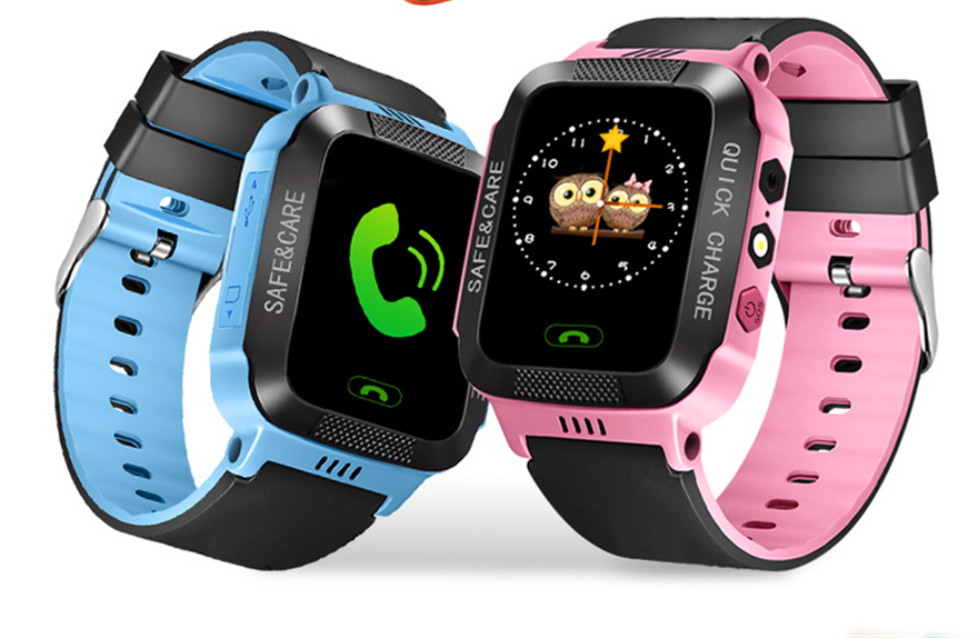 Smart Watch Kids Touch Screen GPS Positioning Children's Watches SOS Call Location Anti-Lost Reminder Baby Watch Children Clock 26