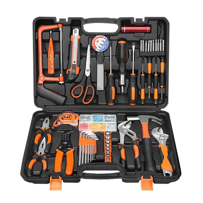 Kostenloser Versand Set Werkzeuge Reparatur Kit Hause DIY Kit Multi funktion Haushalt Toolbox Hardware Tool Jk1108