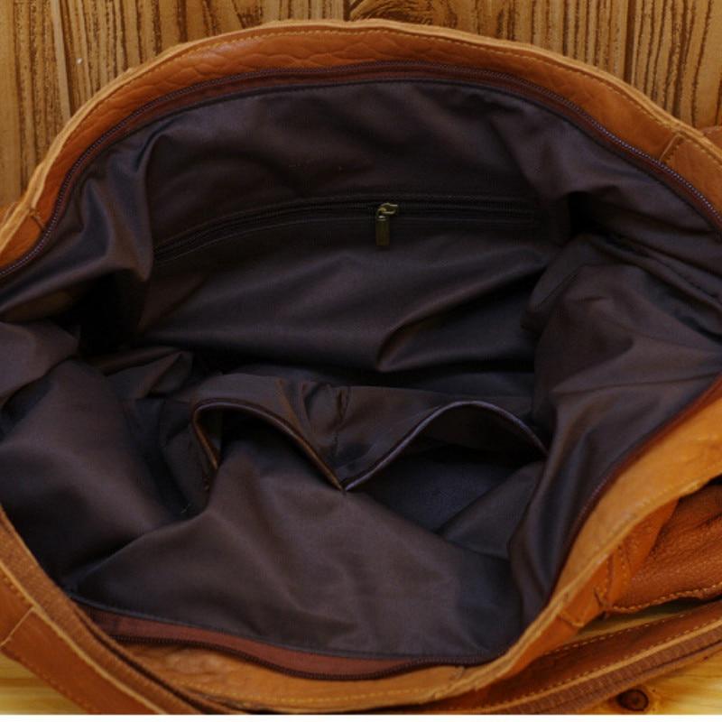 En Véritable 100 Mouton Femmes Sac Style Khaki Main Peau À Couture Totes colorful Nouveau Cuir De Doux Ethnique noir vBBq5wA