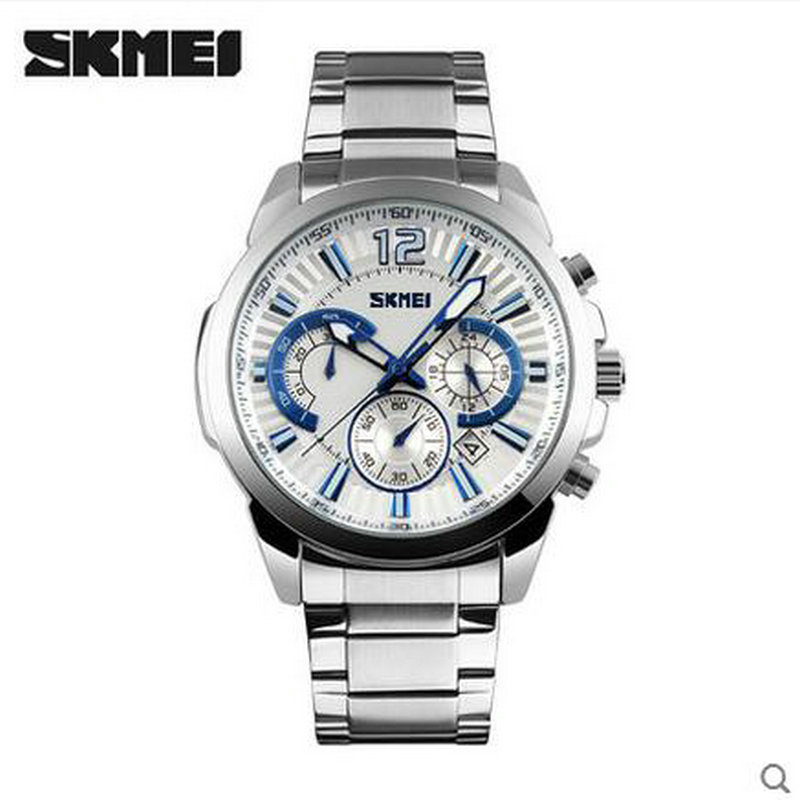 ФОТО 2016 high quality stainless steel band japanese movement wrist watches