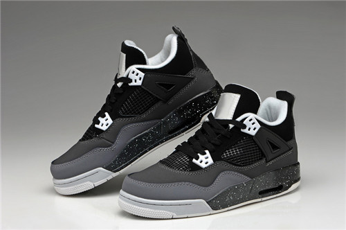 New women AJ 4 basketball shoes Sports sneakers running retro white black trainers breat ...