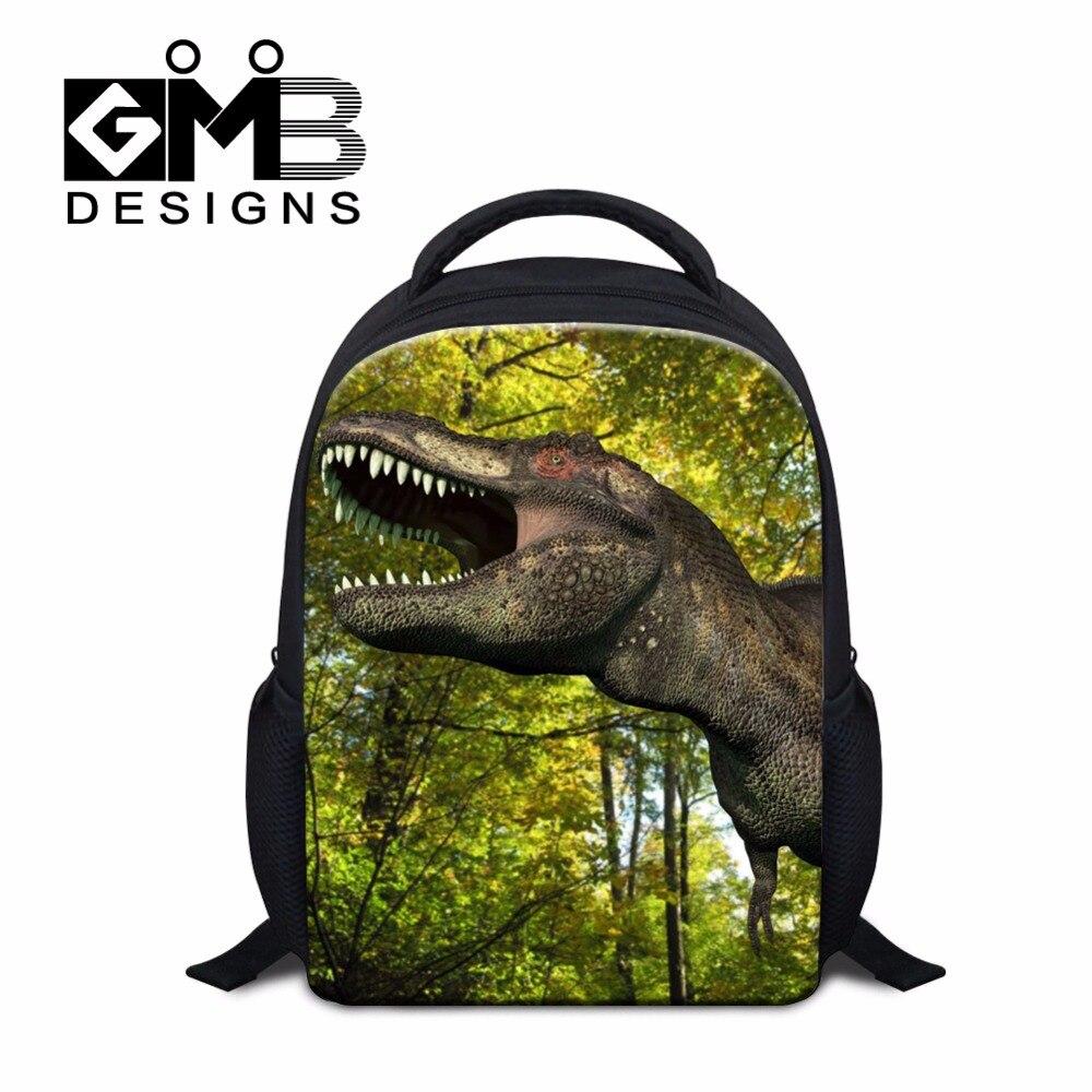 Dinosaurs Backpack for Kids Small School bags for Children Boys Cool Bookbags for Kindergarten Fashion Mochila Designer Day Pack