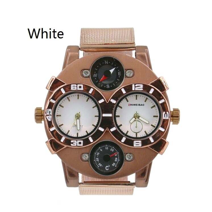Luxury Casual Men Watches Analog Military Sports Watch Quartz Male Wristwatches Relogio Masculino Montre Homme SHIWEIBAO J1109-3